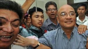 Zarganar Freed in Political Amnesty