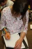Stamp Collector Jennifer Lantheir in schools