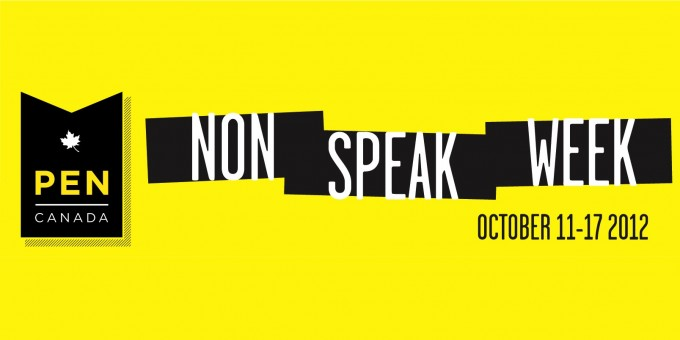 Non-Speak Week: October 11-17, 2012