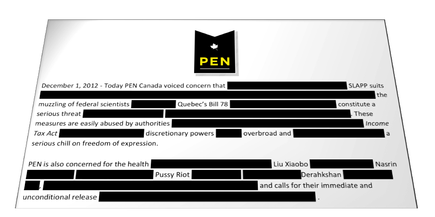 PEN Canada holiday campaign slider