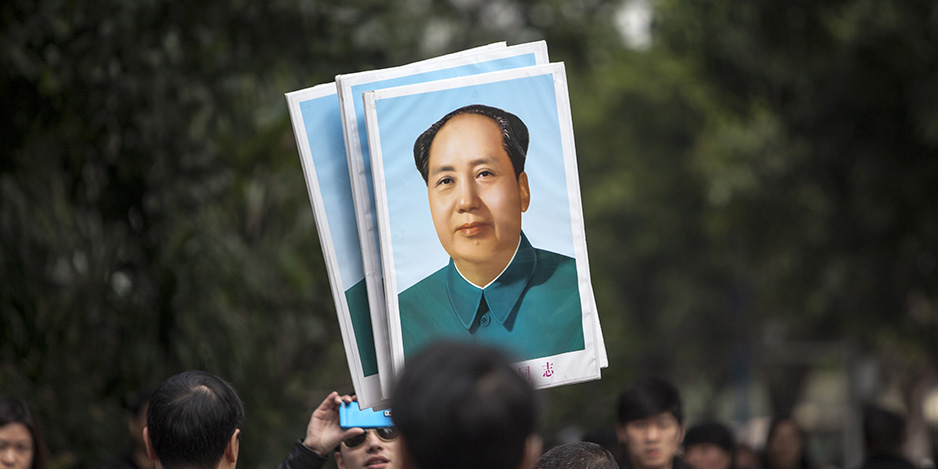 China protests outside Southern Weekend offices