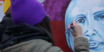 Video Review: Live Painting for the Day of the Imprisoned Writer