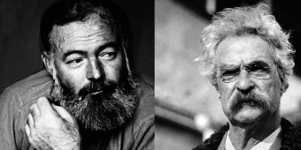 Would Hemingway Beat Twain in a Fist Fight?