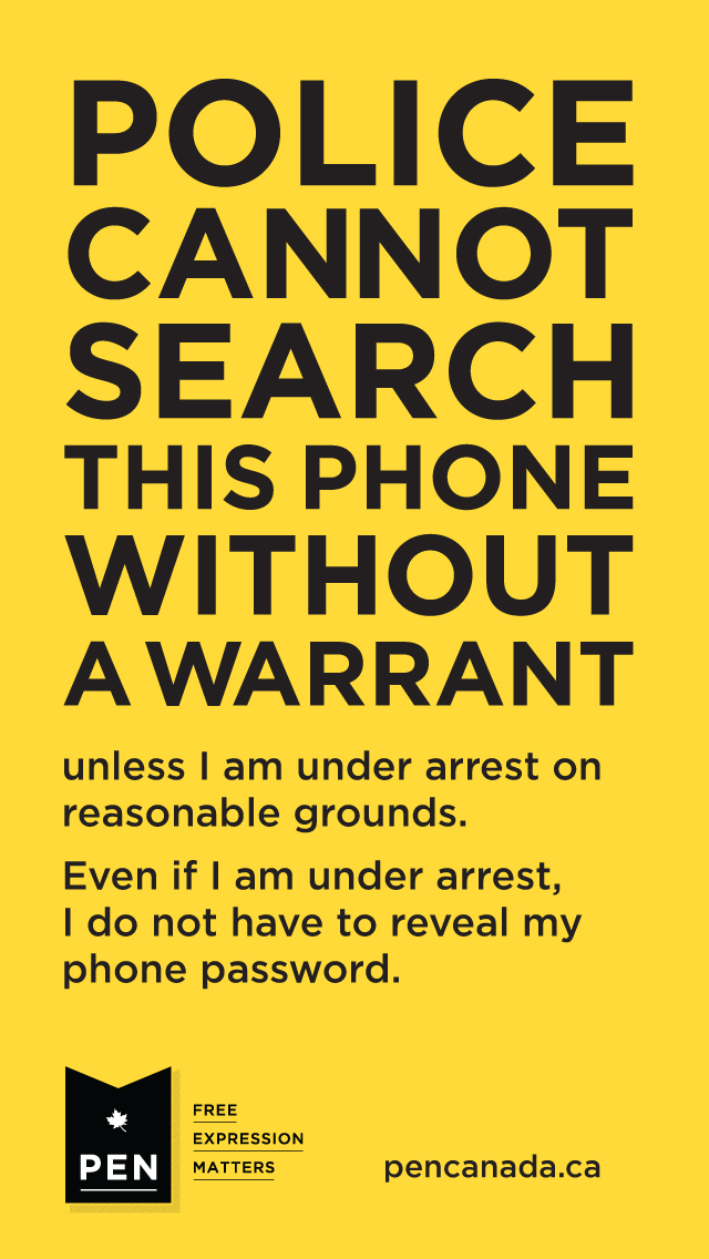do i have a warrant free search