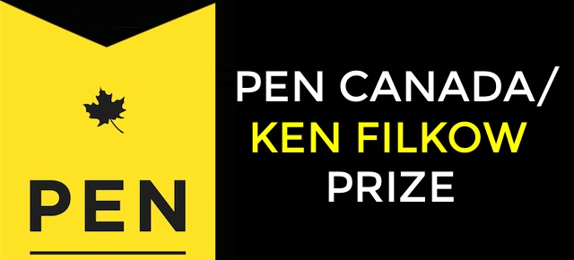 Call for Nominations: 2018 PEN Canada/Ken Filkow Prize