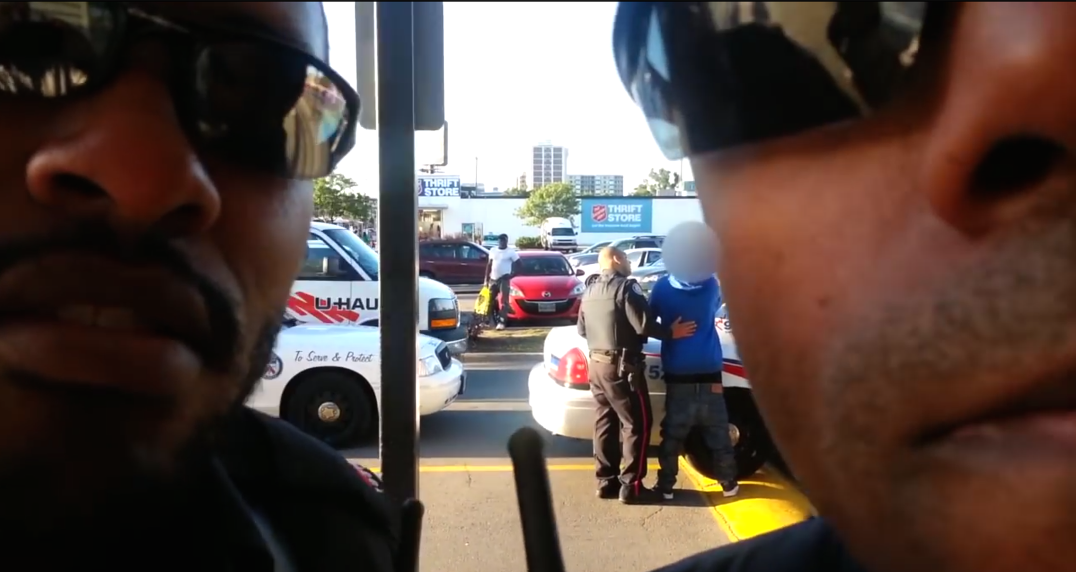 TPS officers obstruct Mike Miller's camera