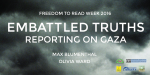 Embattled Truths: Reporting on Gaza