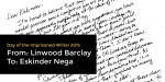 Linwood Barclay Writes to Eskinder Nega