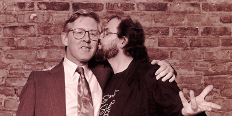 When Salman Rushdie Kissed Bob Rae
