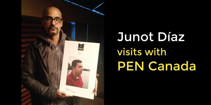 Junot Díaz Visits PEN Canada