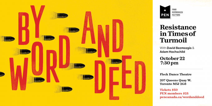 By Word and Deed: Resistance in Times of Turmoil