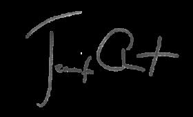 Jennifer Clement signature