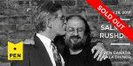 2017 PEN Canada Gala Dinner Honouring Salman Rushdie