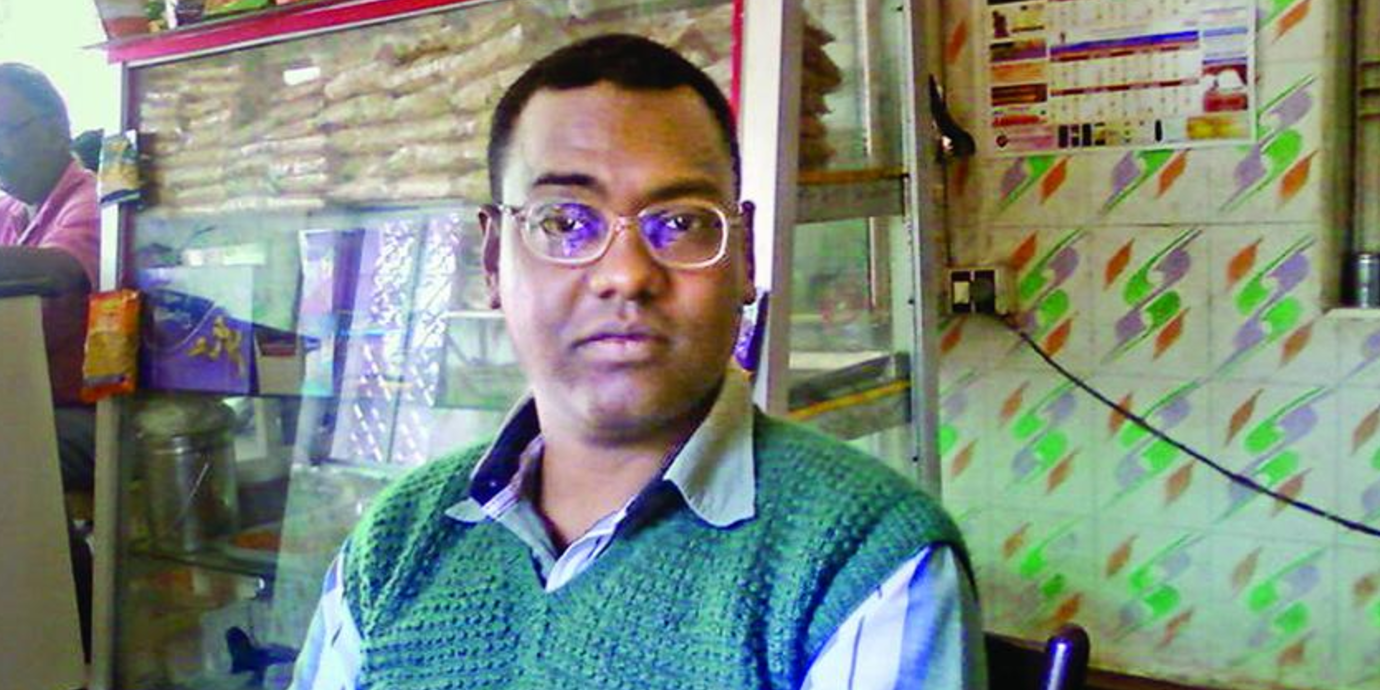 """Hansda Sowvendra Shekhar, Indian writer persecuted for his """"pornographic"""" writing."""
