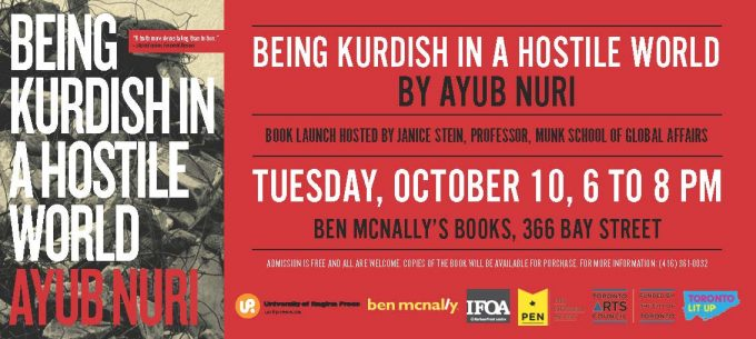 Book Launch: Being Kurdish in a Hostile World