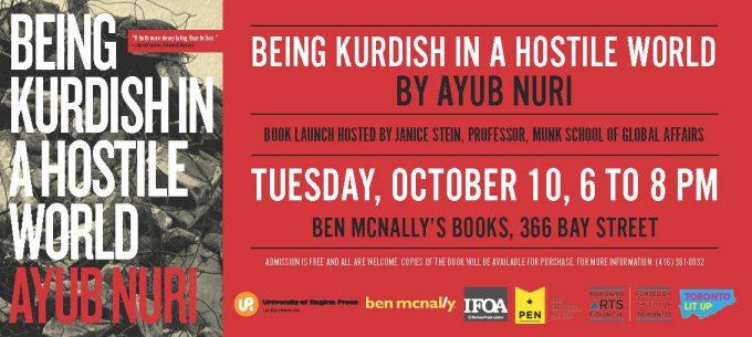 Book Launch: Being Kurdish in a Hostile World