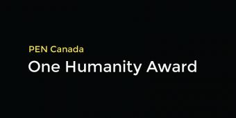 PEN Canada One Humanity Award