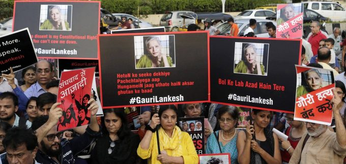 Silencing Voices of Dissent in India