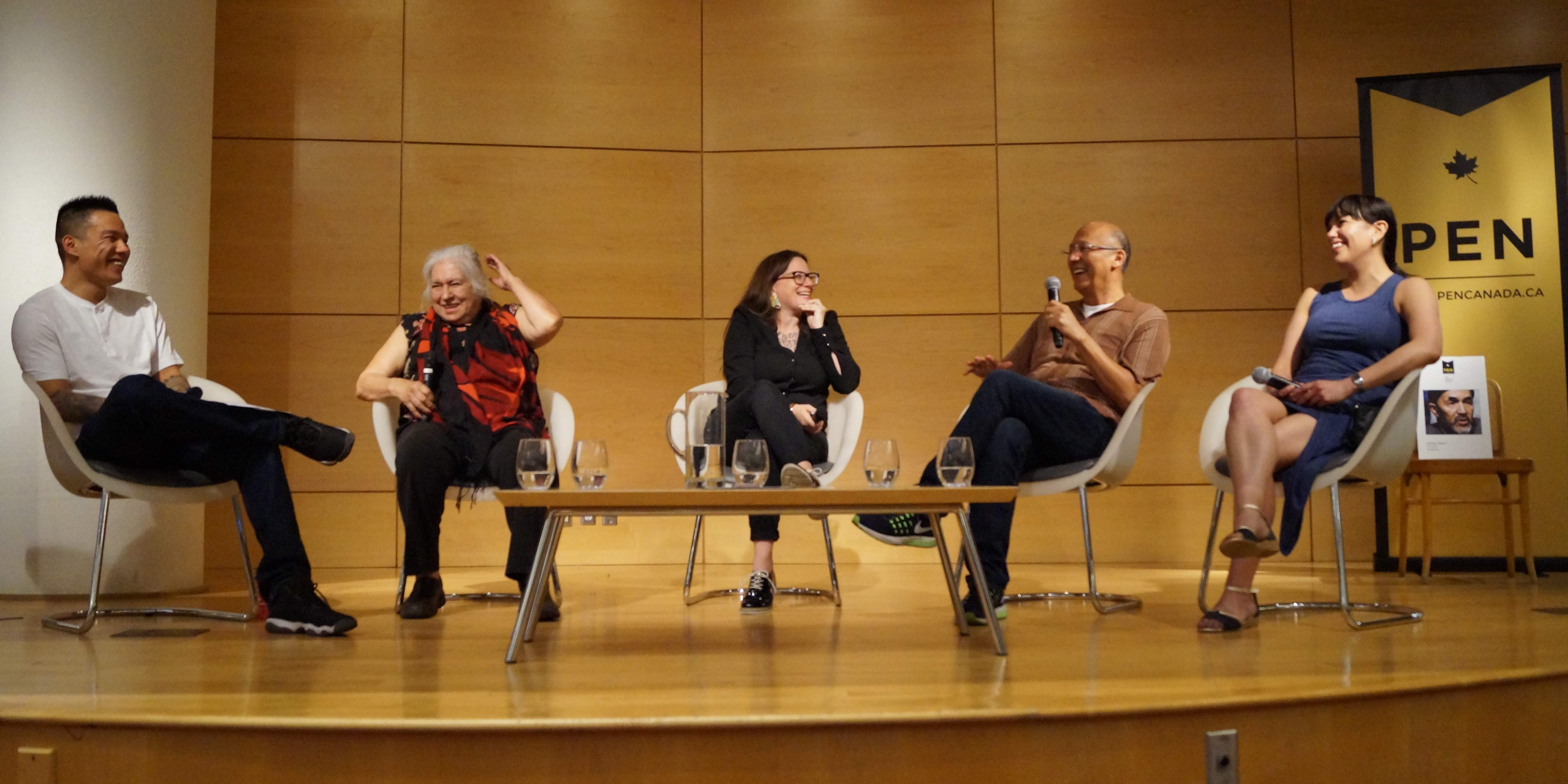 Indigenous Voices Rising, PEN's 2017 Spring Ideas in Dialogue Panel