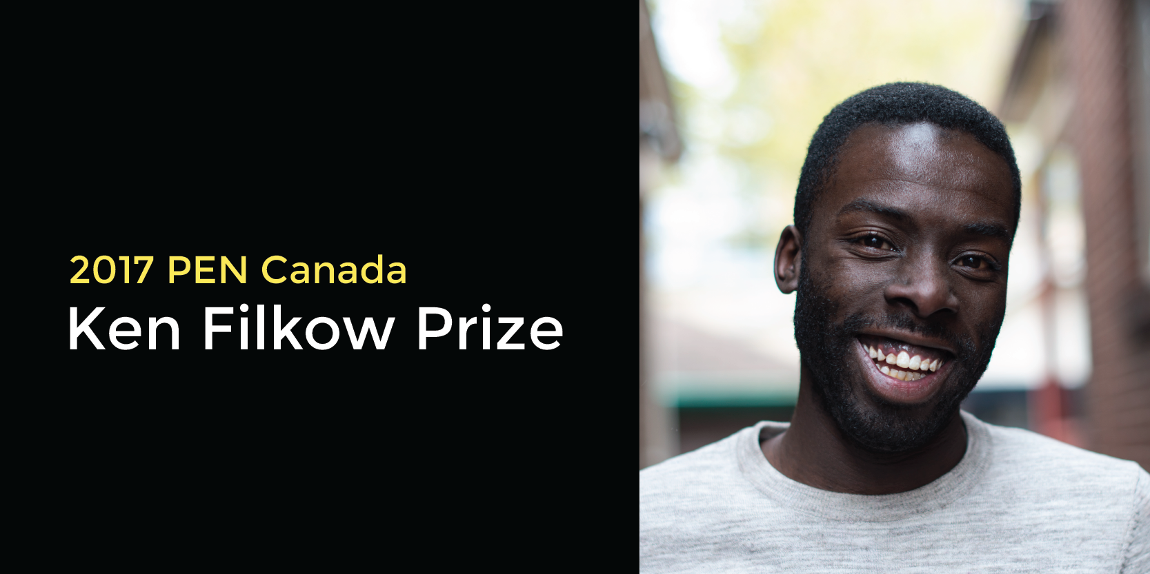 Desmond Cole wins 2017 PEN Canada/Ken Filkow Prize for freedom of expression