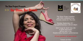 PEN Canada and The Shoe Project Present: Our Shoes, Our Streets