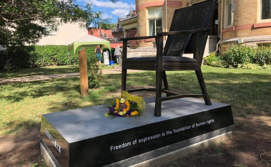 Liu Xiaobo Memorial Unveiled