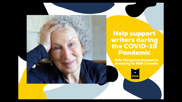 Donate to PEN Canada with Margaret Atwood